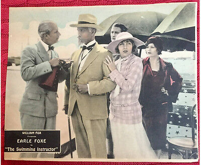 The Swimming Instructor 1926 silent comedy lobby card