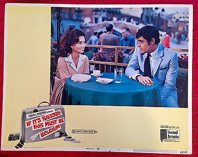 If It's Tuesday This Must Be Belgium comedy lobby card 1969