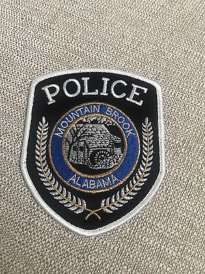 Mountain Brook Alabama Police Patch  **100% To Charity**