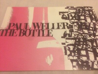 Paul Weller The Bottle Advert Flyer Postcard