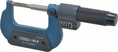Fowler 0 to 1 Inch Mechanical Outside Blade Micrometer 0.0002 Inch Accuracy, ...