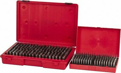 Value Collection 440 Piece, 0.061 to 0.5 Inch Diameter Plug & Pin Gage Set Mi...