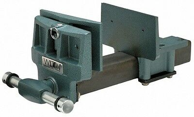 "Wilton 7"" Jaw Width, 10"" Jaw Opening, 4"" Throat Depth, Cast Iron Woodworking ..."