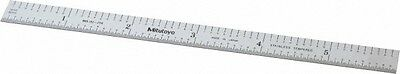 """Mitutoyo 6"""" Long, 1/50, 1/10"""" and 0.5, 1mm Graduation, Flexible Stainless Ste..."""