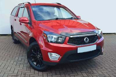For Ssangyong Korando Sports / Musso 2013 - 2018 Bonnet Guard Protector