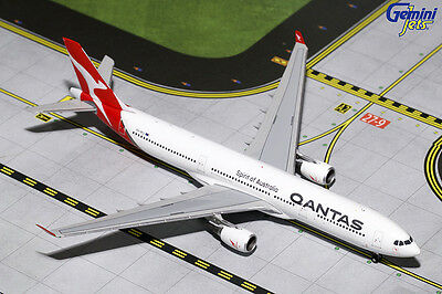 Gemini Jets 1:400 Qantas Airways Airbus A330-300 'New Colours' VH-QPJ