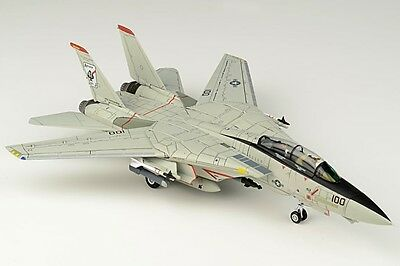 JC Wings 1:72 US Navy Grumman F-14A Tomcat, VF-41 'Black Aces' 162608 with Stand