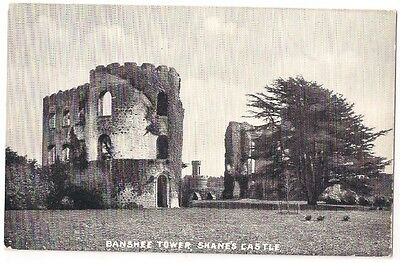 BANSHEE TOWER, SHANES CASTLE, CO ANTRIM c1910 by W A GREEN