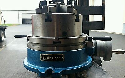 10'' south bend rotary table w/chuck