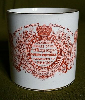 Queen Victoria Commemorative Diamond Jubilee Mug
