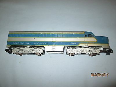 American Flyer #21922-1 Missouri Pacific Alco PA Dummy Unit. Very Good.