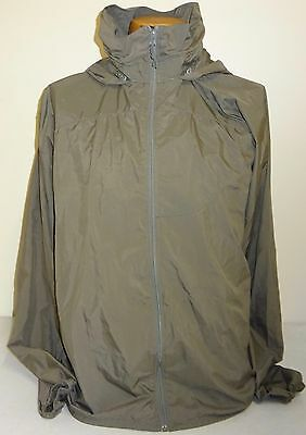 Patagonia GEN II Level 4 Windshirt Jacket Grey Size Large Long New Without Tags