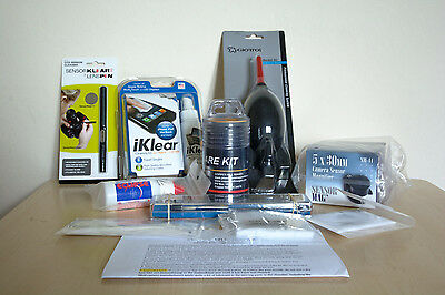 Camera Sensor and Lens Cleaning Kit
