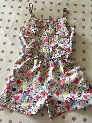 Girls Play suit Age 6-7 M&S