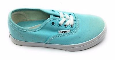 aa9a8e59b0e Vans Youth Authentic Lo Pro Sneaker Shoe Aqua Splash Little Kid Size 11 M