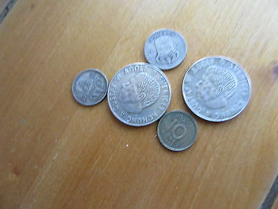 5 swedish silver coins better grade