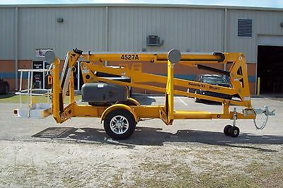 Bil Jax 4527ATowable Boom Lift,51' Work Height,27' Reach,2017 Trade In 12 Hours