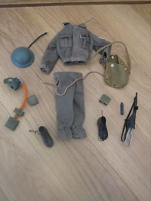 Vintage Action Man British Soldier Uniform
