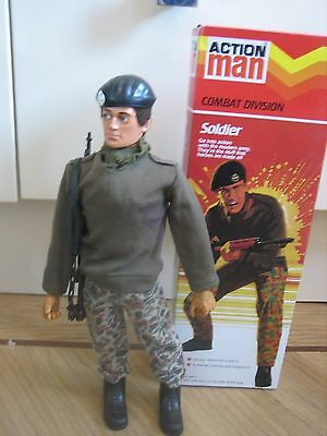 Vintage Eagle Eye Action Man Soldier