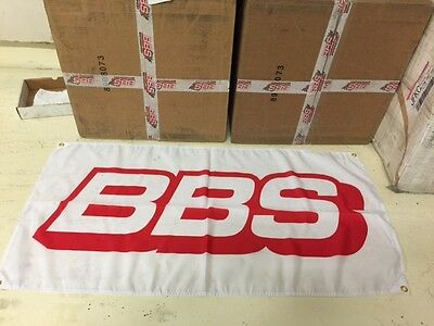 BBS Motorsport Wheel Dealer Flag Banner~Turbo Racing RS F1 Touring Cars Rally