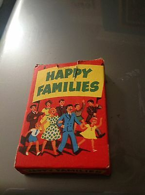 Vintage Happy Families Card Game. Complete. Tower Press No 5484