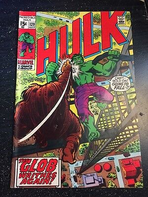 Incredible Hulk#129 Awesome Condition 5.5(1970) Glob, Leader App!!