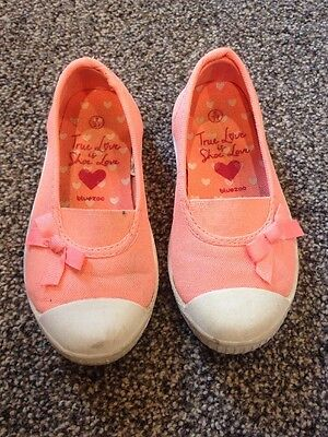 Infant Girls Pumps Shoes Size 9