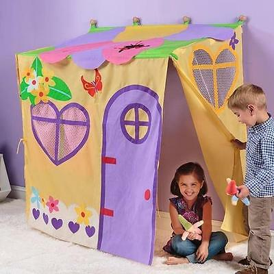 Enchanted Garden Wall Play Tent Magic Cabin Free Shipping High Quality