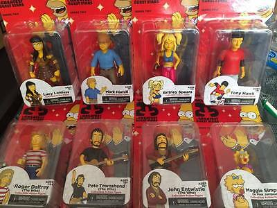 New Complete Set NECA The Simpsons 25th Series 2 Figures - Maggie Mark Lucy Tony