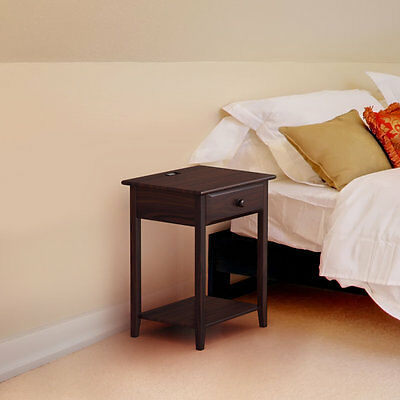 1 Drawer Nightstand StonyEdge Free Shipping High Quality