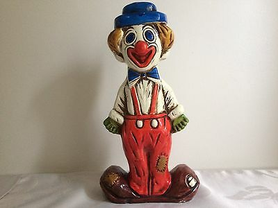 Vintage Plaster Money Box in the form of a Clown