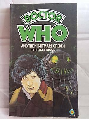 Target Book - DOCTOR WHO AND THE NIGHTMARE OF EDEN - Terrance Dicks - Rare 1978