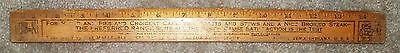 Antique Stove Advertising Ruler