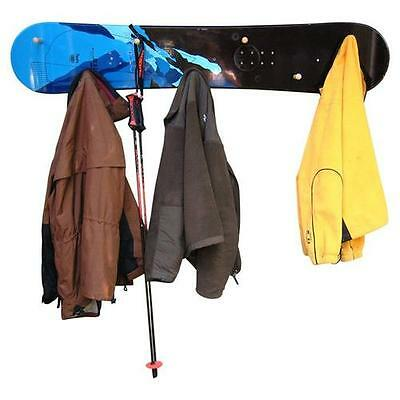 Snow Board Coat Rack with Wooden Peg Ski Chair Free Shipping High Quality
