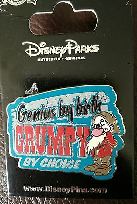 P3 Grumpy Disney Trading Pin - open edition with card