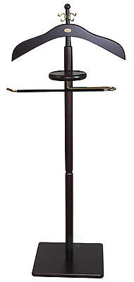 Wood Men Suit Valet Stand Uniquewise Free Shipping High Quality