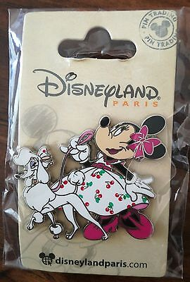 P4 Minnie Disney Trading Pin - DL release with card