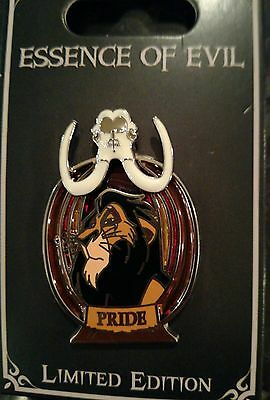 P3 Scar Essence of Evil Disney Trading Pin - Limited Edition with card