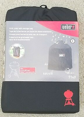 """Weber"" #7149 (22"") Charcoal Grill Cover w/ Storage Bag"