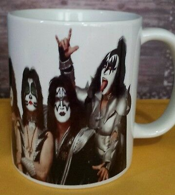 kizz coffee mug rock band