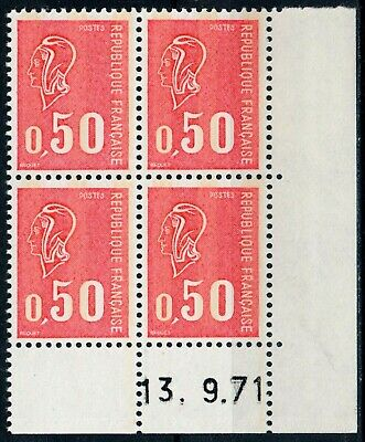 4 Timbres Neufs Y&t N° 1664 - Coin daté [ref.12955]
