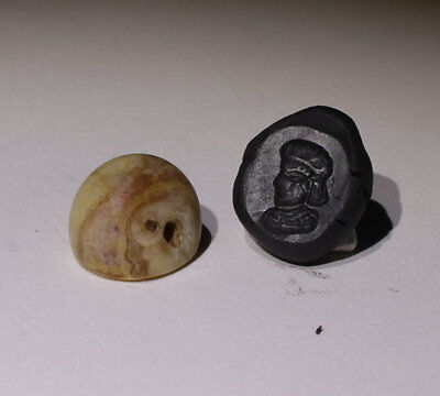 Superb Ancient Carved Agate Seal - Circa 500Bc  - No Reserve!!