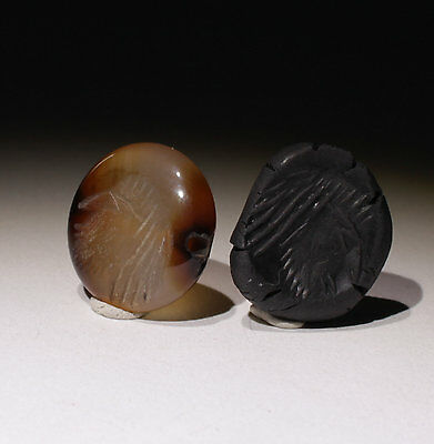 Large Ancient Agate Intaglio Bead - Circa 2Nd/4Th Ad  - No Reserve!