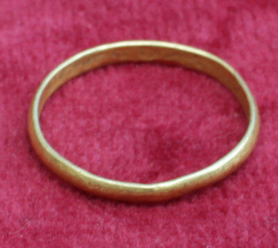 Lovely Medieval Gold Ring - Circa 14Th/15Th Century Ad  No Reserve!!!!