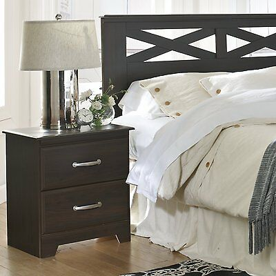 Berlin 2 Drawer Nightstand Lang Furniture Free Shipping High Quality