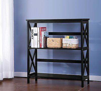 "3-Tier 34"" Etagere Bookcase Merax Free Shipping High Quality"