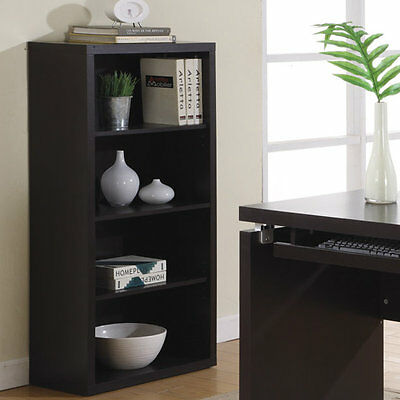 "48"" Standard Bookcase Monarch Specialties Inc. Free Shipping High Quality"