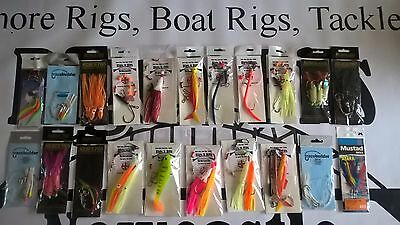 21 Sea fishing Boat rigs High Quality Boat professional rigs 4 drift and wrecks