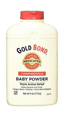 Gold Bond Cornstarch Plus Baby Powder 4 oz Pack of 1