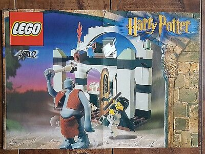 Harry Potter LEGO - 4712 Troll On The Loose Instruction Manual Only